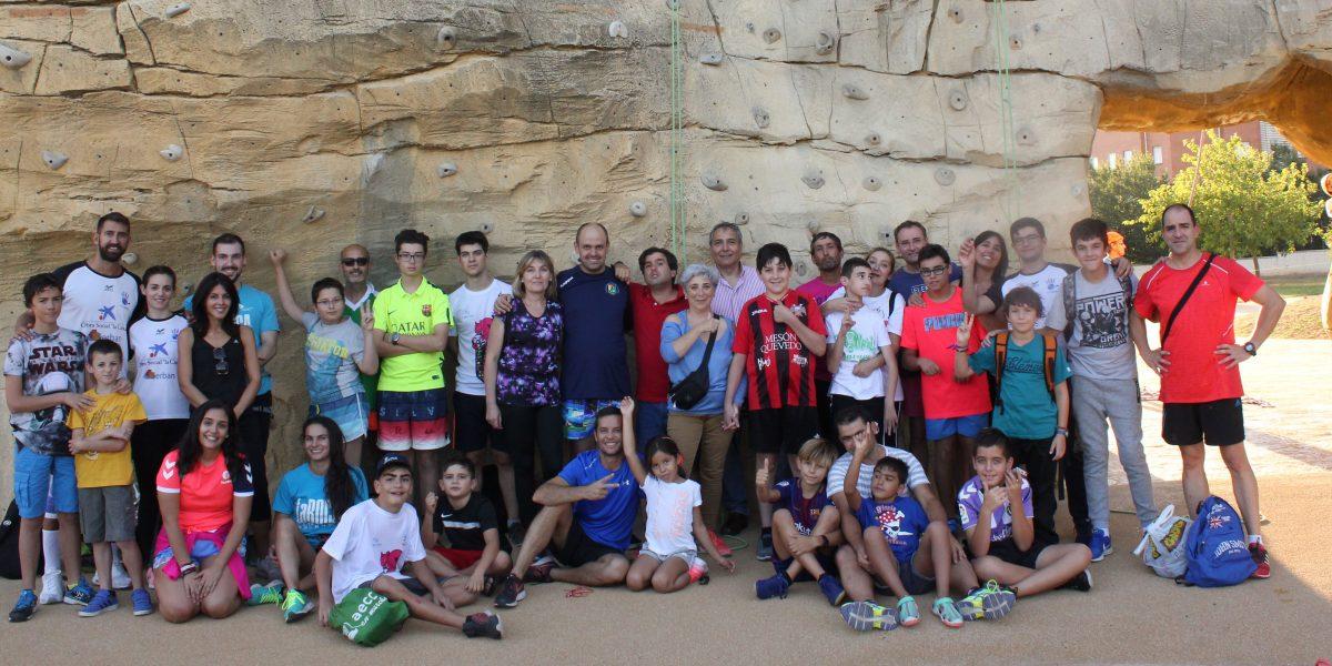 Día de familia en La Roca Multiaventura