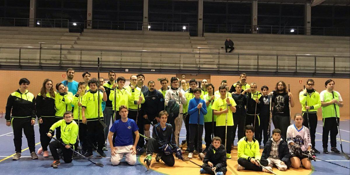 Entrenamos con el Club Patinaje en Línea Valladolid