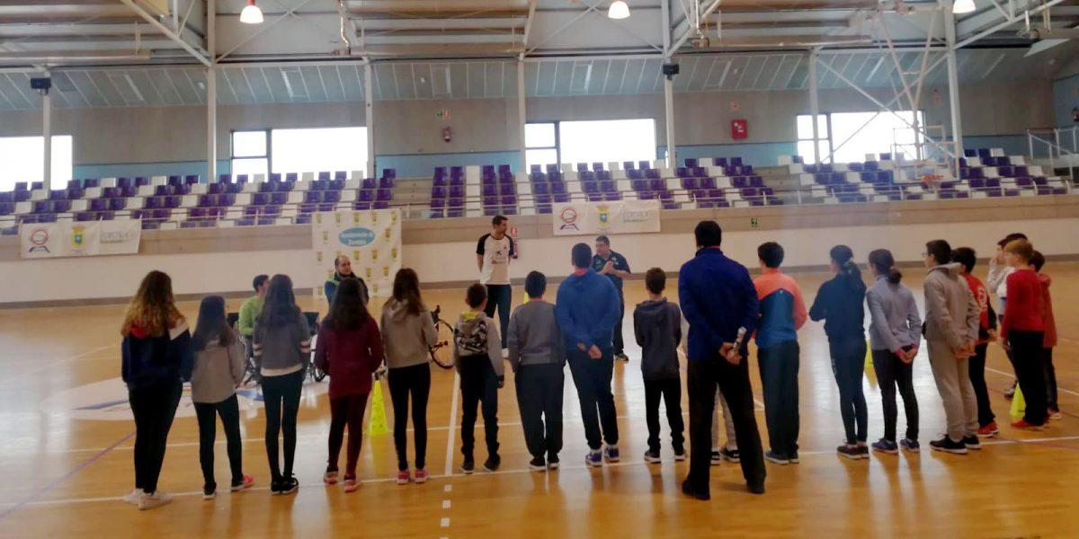 Más de siete horas de deporte inclusivo
