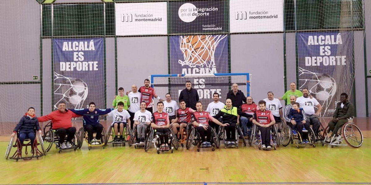 Primer partido de Inclusport adaptado en Madrid