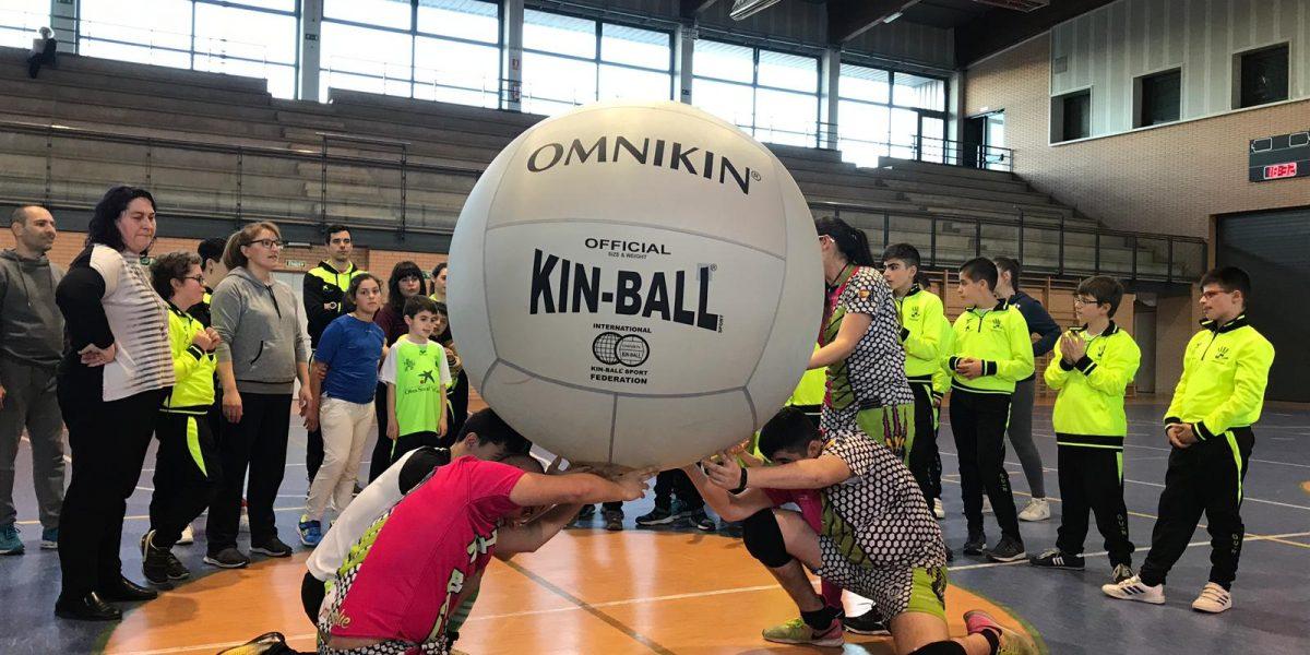 Primeras nociones de otro deporte, kin-ball