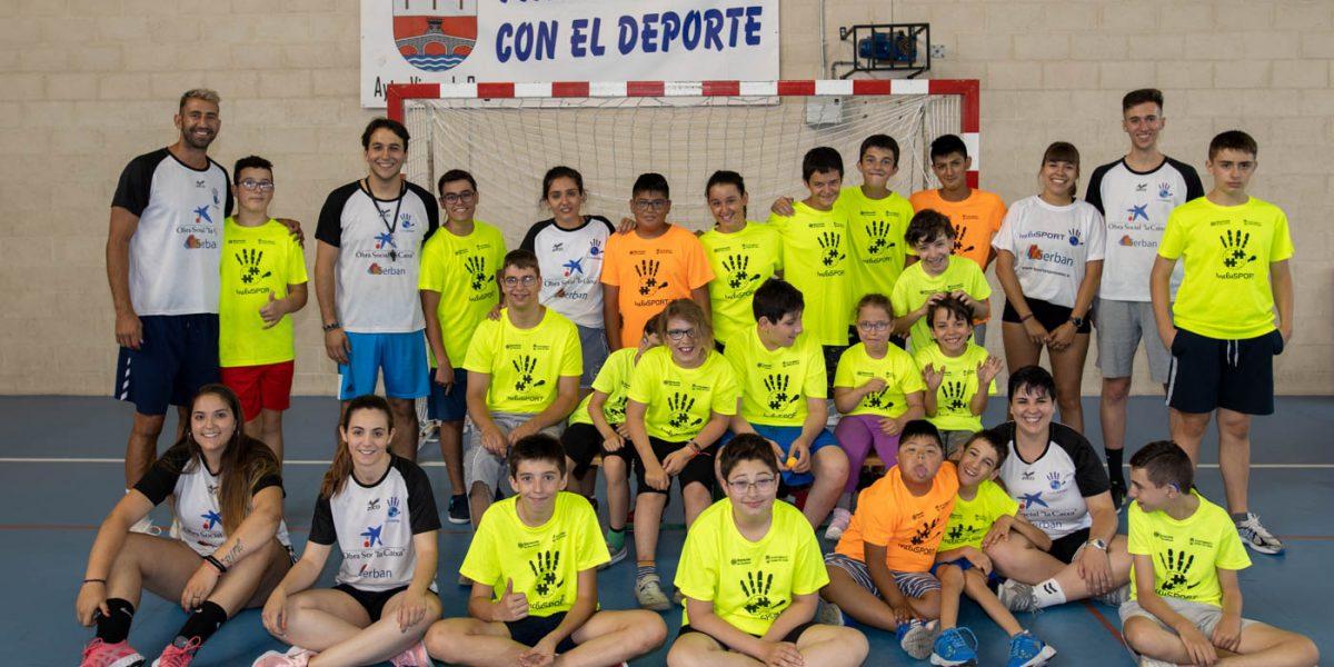 Una veintena de participantes disfrutan en Viana