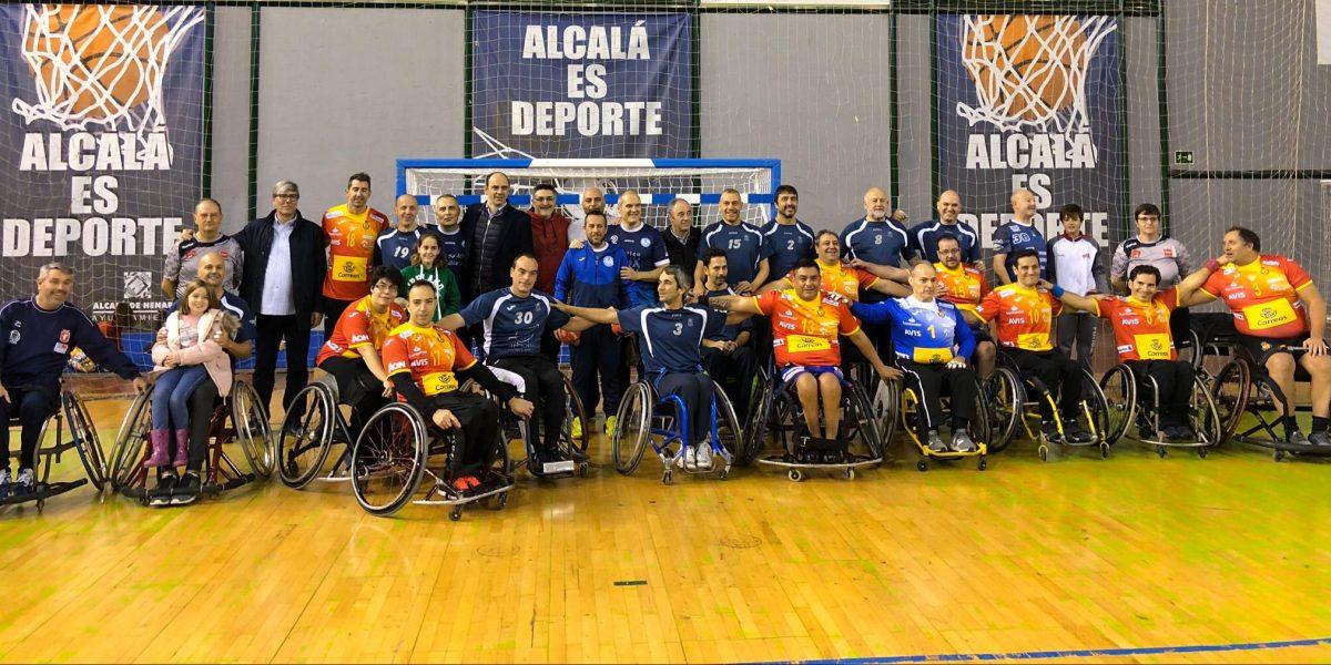 Otro paso más con la selección en Alcalá