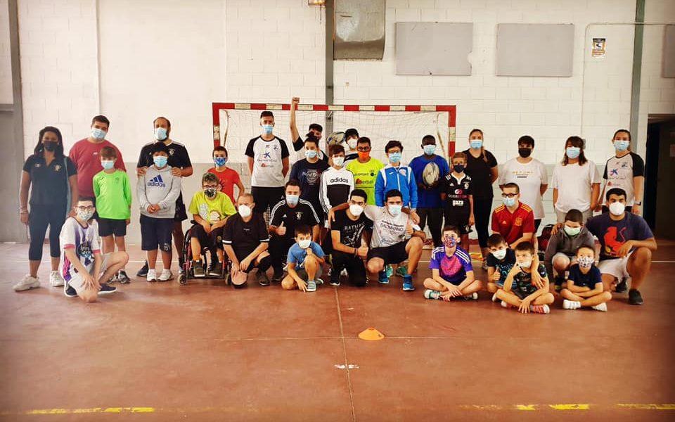 Rugby, voleibol, bádminton, fútbol sala y basket, en el Campus